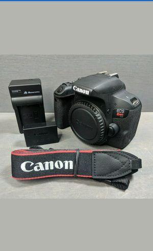 Canon t7i EOS Rebel (Body Only) $300 OBO for Sale in Jonesboro, GA