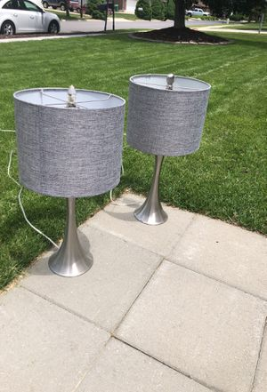 Pair of lamps for Sale in Sandy, UT