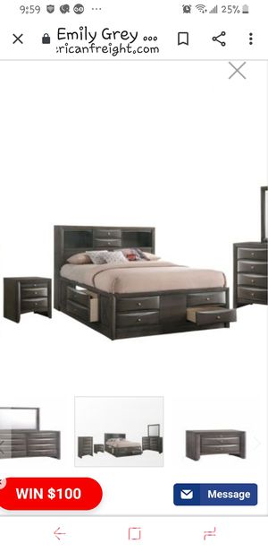 Just the Bed Frame w/ drawers for Sale in Lino Lakes, MN
