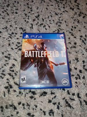Battlefleld 1 for PS4 for Sale in Laurel, MD