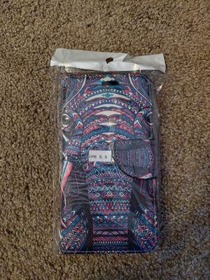 iPhone 6 Plus wallet case for Sale in Decatur, TX