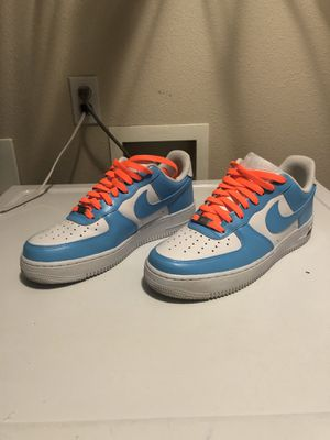 AIRFORCE 1 custom paint size 9 men's used once for Sale in Hillsboro, OR