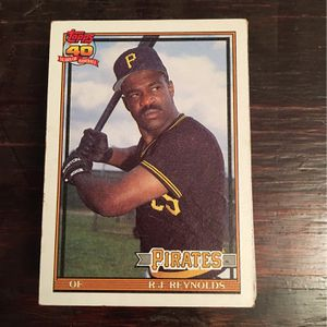 Pittsburgh Pirates Baseball Cards for Sale in Morganton, NC