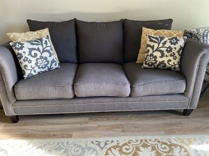Priced to Sell!!! Like New Beautiful Charcoal Gray Sofa!!! Make me An Offer!! for Sale in Westminster, CO