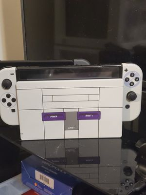 Nintendo Switch Custom SNES Soft Touch Upgrade for Sale in Westminster, CO
