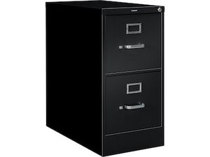 HON S380 Series 2 Drawer Vertical File Cabinet, Black, Letter, 26 for Sale in Canal Winchester, OH
