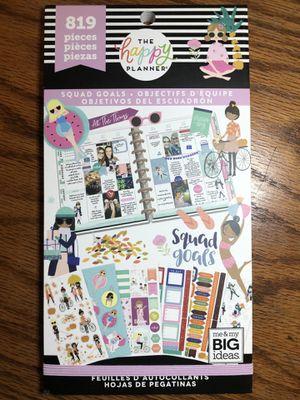 Happy planner squad goals sticker book for Sale in Neodesha, KS