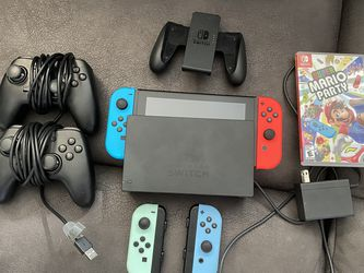 Nintendo Switch V2 And Games for Sale in Tacoma,  WA