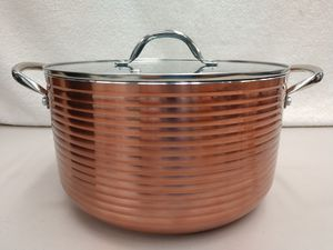 8 Qt Copper Non Stick Stock Pot - NIB for Sale in Fife, WA
