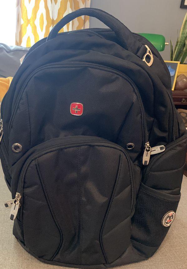 Swiss Gear ScanSmart Black Computer/Tablet/Laptop Airflow Backpack