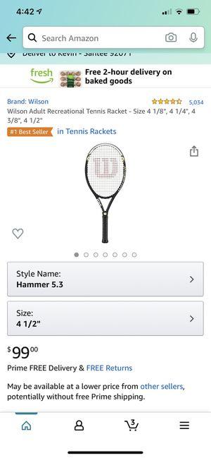 Tennis racket for Sale in Santee, CA