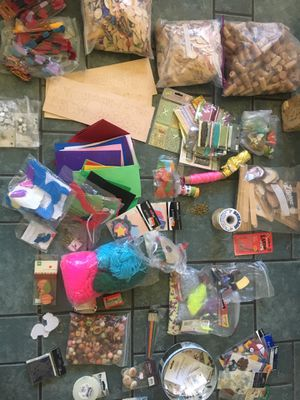 School Teacher, Childcare, Babysitters, and Mothers ARTS & CRAFT SUPPLIES LOT 2 for Sale in Culver City, CA