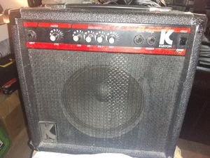 K kustom Bass Amp with 4 band active EQ for Sale in Brooklyn, NY