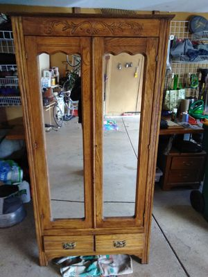 Antique armoire circa 1900 for Sale in Centennial, CO
