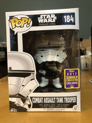 Funko Pop! Star Wars Combat Assault Tank Trooper for Sale in Costa Mesa, CA