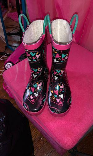 Kids rain boots size 12 for Sale in Philadelphia, PA