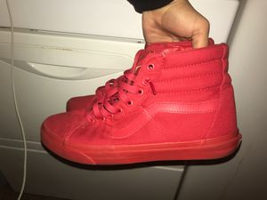 Vans 'RED' for Sale in York, PA