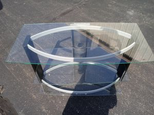 Flat screen TV entertainment stand new for Sale in Philadelphia, PA