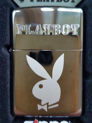 Zippo playboy bunny black ice 29778 for Sale in Los Angeles, CA
