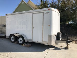 2005 7x14 dual axle race line trailer for Sale in West Richland, WA