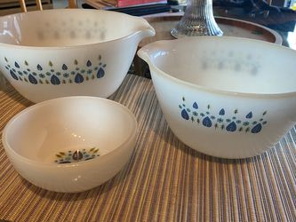 Vintage Fire King Swiss chalet Alpine Bowls for Sale in Normandy Park,  WA