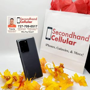 Like New 128GB Cosmic Gray Galaxy S20 Ultra 5G Factory Unlocked *As Little As $0 Down for Sale in Largo, FL