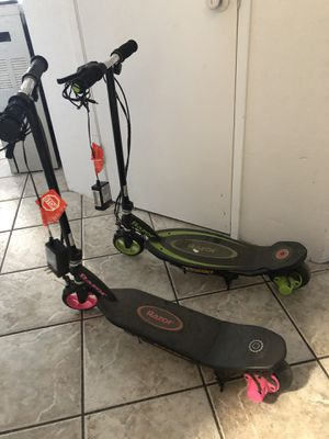 Two Power core90 electric scooters for Sale in Modesto, CA