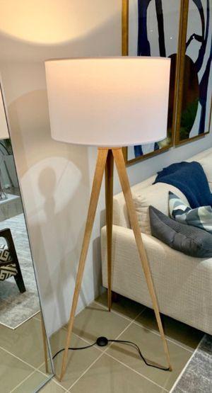 Mid-century industrial floor lamp for Sale in Marina del Rey, CA