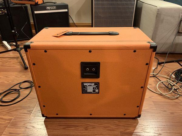 Orange AmplifiersPPC Series PPC112 60W 1x12 Guitar Speaker CabinetSt