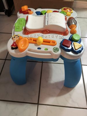 Leap frog musical activity table for Sale in Des Plaines, IL