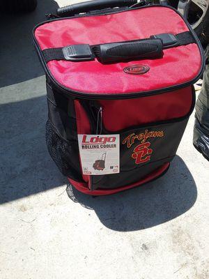 USC Trojans Rolling cooler with wheels for Sale in La Puente, CA