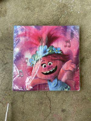 Trolls napkins for Sale in Long Beach, CA