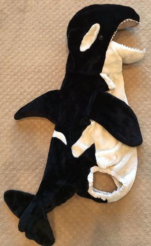 Chosun ORCA killer whale plush Halloween costume child size L 6 7 for Sale in Marysville, WA