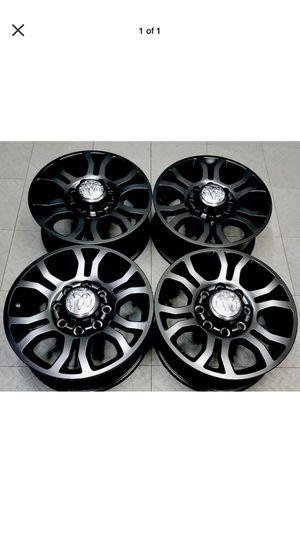 "18"" Dodge Ram 2500 3500 wheels rims black for Sale in Huntington Beach, CA"