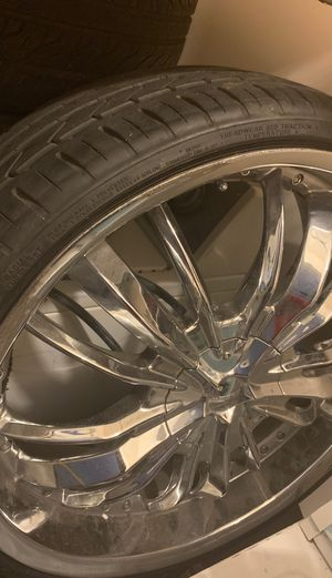 Fresh Tires With Rims for Sale in Myrtle Beach, SC