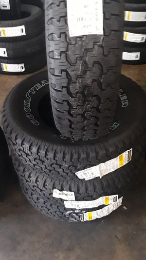 Set of new Goodyear 235/75/15 Free professional installation & balancing for Sale in Montebello, CA