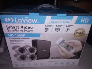 LaView hd 1080p security cameras for Sale in Wyoming, OH
