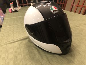 AGV Sportmodular carbon, white XL for Sale in Brentwood, CA