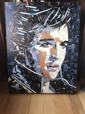 "ELVIS PRESLEY ""Blue Suede Shoes"" Canvas Artwork 19 x 28 for Sale in Chantilly, VA"
