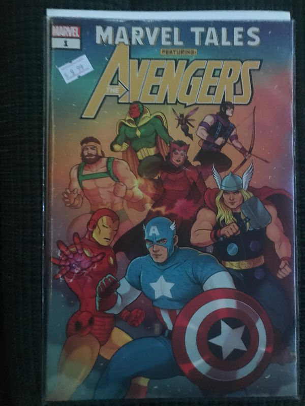 Marvel Tales: The Avengers