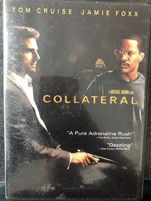 Collateral DVD - Tom Cruise, Jamie Foxx for Sale in Griswold, CT