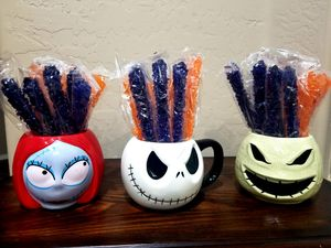 3 Nightmare Before Christmas Mugs for Sale in Laveen Village, AZ