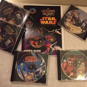 Star Wars CDRom Set With Book for Sale in Covington, WA