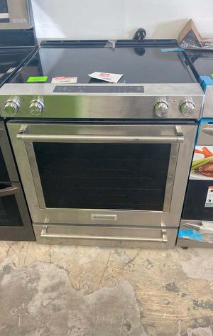 Kitchen aid KSEG700ESS electric stove ☺️☺️☺️ 5U1 for Sale in Houston, TX