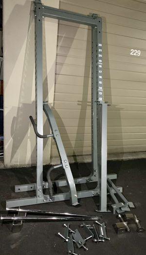 Powertec full cage/ squat full rack for Sale in Kent, WA