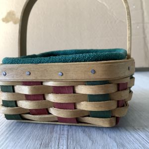 Longaberger Miniature Basket With Set Of 8 Coasters for Sale in Arlington, VA