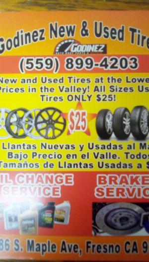 Godinez tire shop for Sale in Fresno, CA