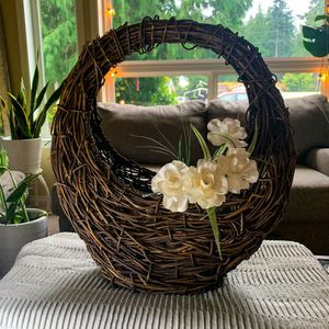 Wicker Hanging Plant Holder for Sale in Bothell, WA