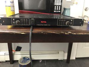Ramsa 2 channel power amplifier Wp-9055 for Sale in East Orange, NJ