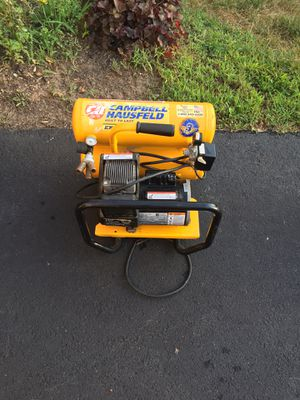 Campbell Hausfeld Extreme Duty Twin Tank Air Compressor with Handle for Sale in Haymarket, VA